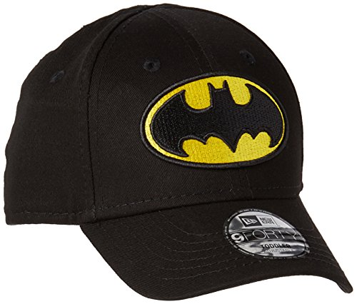 New Era Kinder Essential 9Forty Batman Mütze, Schwarz, 6-12 Years
