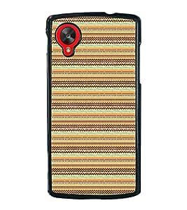 PrintVisa Chevron Layout High Gloss Designer Back Case Cover for LG Nexus 5 :: LG Google Nexus 5