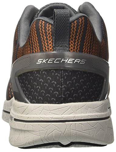 Skechers Burst 2.0-In the Mix Ii, Sneakers Basses Homme Gris (CCOR)