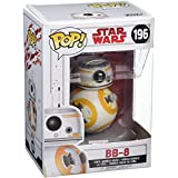Star Wars - Figuara de vinilo: POP! Bobble: Star Wars: E8 TLJ: BB-8