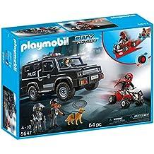 Playmobil 599386031 - fuerzas especiales de policia
