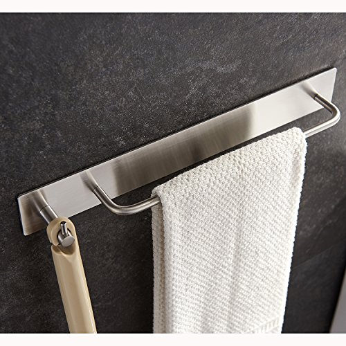 Zunto adesivo portasciugamani con ganci asciugamano ganci - Ganci appendiabiti da porta ...