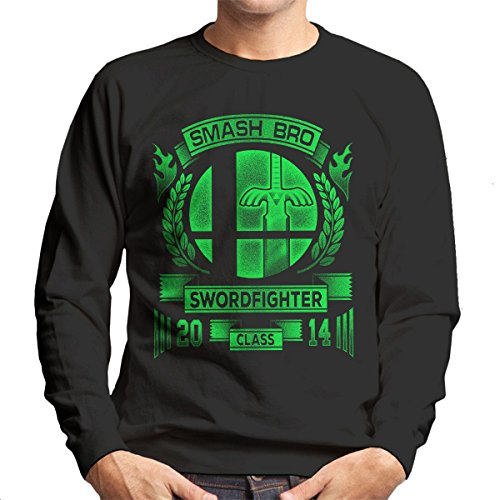 Smash Bro Swordfighter Mario Men's Sweatshirt