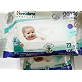 Himalaya SS StoresGentle Baby Wipes(72 Pieces)