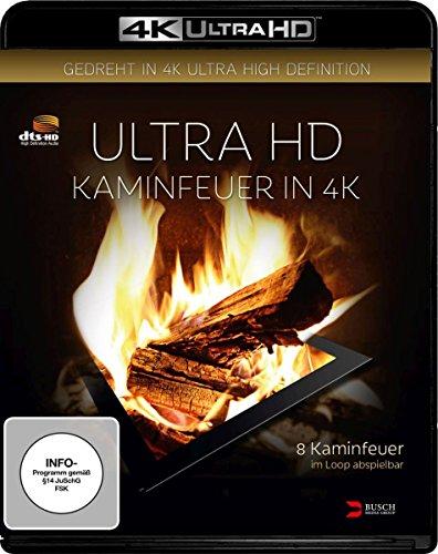 Kaminfeuer - 4k Ultra HD Blu-ray