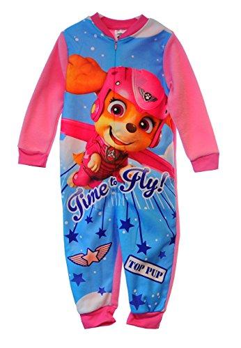 Nickelodeon-strampler (Nickelodeon Pyjama Kinder Schlafanzug Overall Strampler Reißverschluss (3/4J. (98/104)))