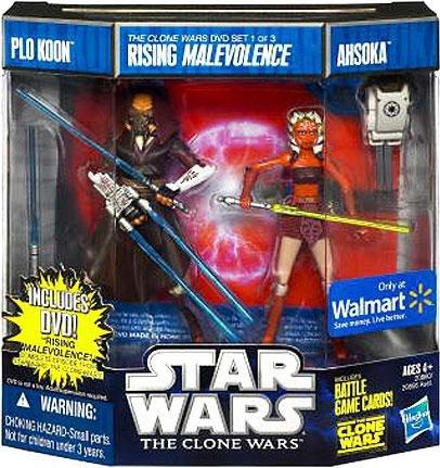 Star Wars The Clone Wars Plo Koon & -