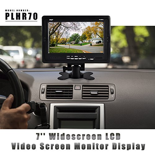 Pyle PLHR70 - Car rear view camera Monitor - For Backup Reverse Camera , fpv camera