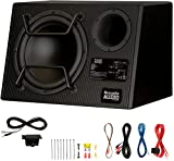 """Acoustic Audio by Goldwood ACA12DWG Deluxe Powered 12"""" Car Ported Subwoofer 900W"""