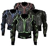 BaByliss ba-002  Motocross Motorrad-Biker-Schutz-Jacke Body Armour Mountain Radfahren Reiten Skaten Snowboarden Track Crash Guard CE-geprüft–Schwarz