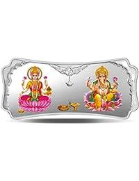 MMTC-PAMP India Pvt. Ltd. Stylized Lakshmi Ganesha 999.9 purity 250 gm Silver Bar