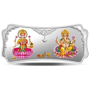 MMTC-PAMP Stylized Lakshmi Ganesha (999.9) 250 gm Silver Bar