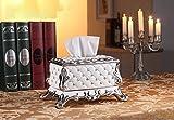 Hyun times Im europäischen Stil Tissue Box Pump Tablett Luxus-Wohnzimmer Couchtisch Haushaltskeramikqualität Papierkasten Pumpen Haushalts amerikanischen