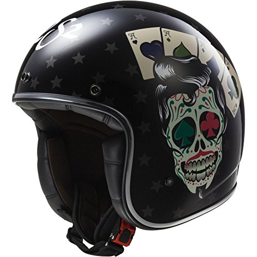 305833112S - LS2 OF583.30 Bobber Tattoo Open Face