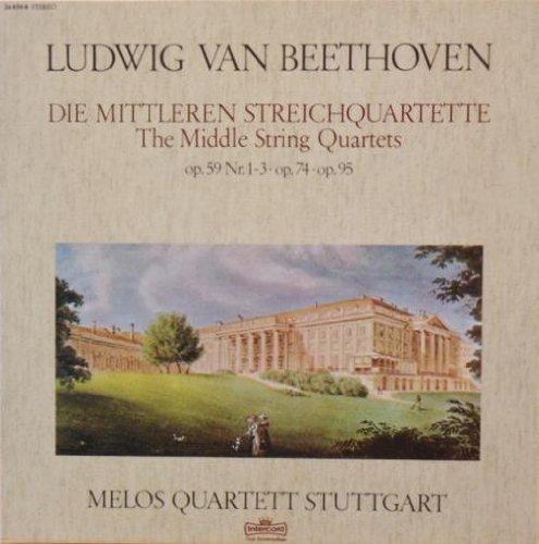 Die mittleren Streichquartette op. 59 Nr. 1-3, op. 74, op. 95