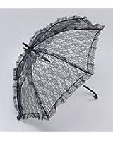 Parasol. Black Lace