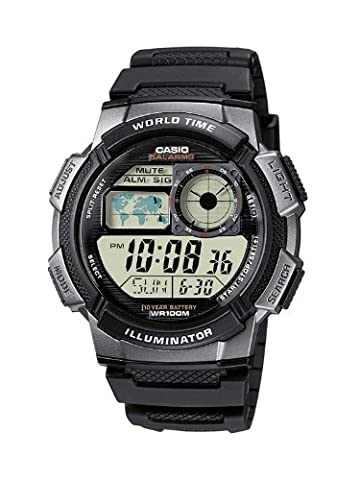 Casio Collection – Men's Digital Watch with Resin Strap – AE-1000W-1BVEF