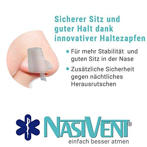 Nasivent Tube Plus Anti Schnarch Mittel (Neues Model) - Größe S/8mm - 2er Pack (Mit Reisebox) - 6