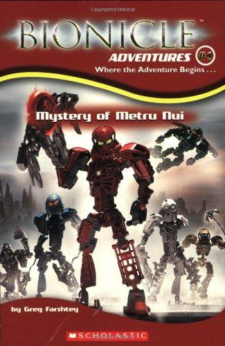 Mystery of Metru Nui (Bionicle Adventures) (Bionicle-bücher Lego)