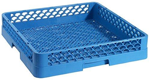 Geschirrspülkorb KLEINTEILE, engmaschig, aus blauem Polypropylen, DIN 66075-F, stapelbar, hitzeresistent bis +120°C / 50 x 50 x 10 cm | ERK
