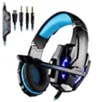 Casque Gamer KingTop Gaming Headset E...