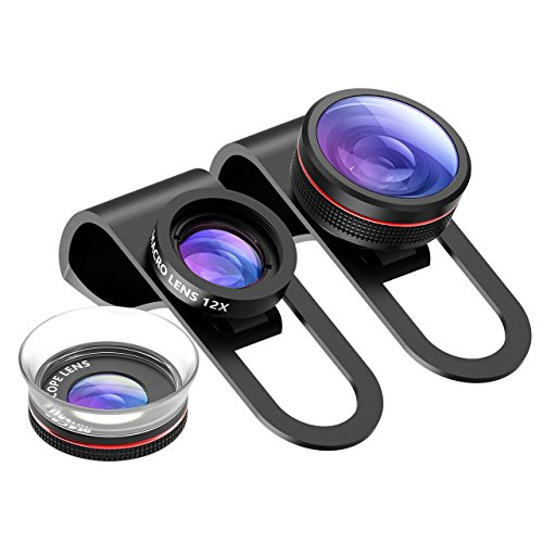Pictek lente fisheye, Phone, iPhone Lens kit...