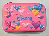 #3: MSGH Hardtop Pencil Case Big Pencil Box with Compartment for Kids-Big