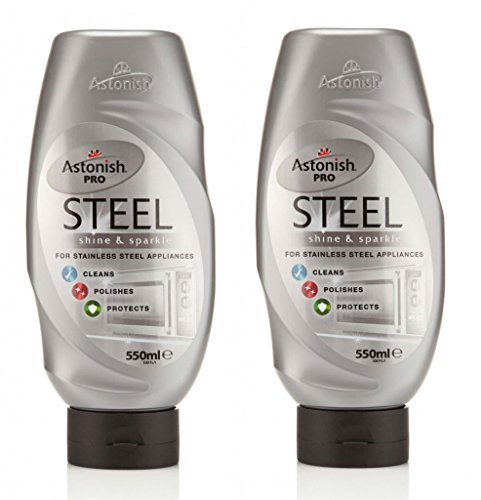 2-x-astonish-pro-stainless-steel-appliances-cleaner-polishes-protects-550ml