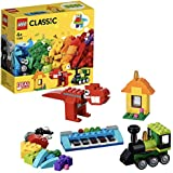 LEGO Classic Bricks and Ideas Building Blocks for Kids (123 Pcs)11001