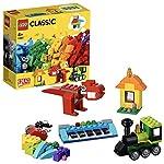 LEGO Classic Mattoncini e Idee, Giochi di Costruzione, Idea Regalo per Bambini di 4+ Anni, 11001 LEGO