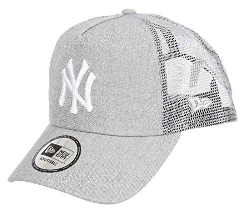 New Era MLB Heather Truck Neyyan HGR Kappe, Grey/Gris, Einheitsgröße
