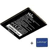 Lobishop Original Batterie Wiko 2000mAh 7,4Wh pour Wiko Freddy 4G, Bloom + Screen...