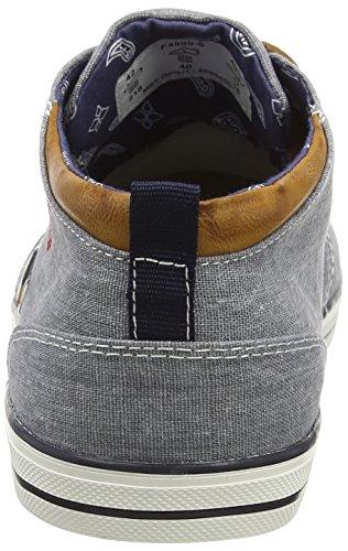 Bugatti F48096, Sneakers Hautes homme Bleu (jeans 455)