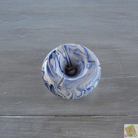 cendrier-anti-fumee-marbre-bleu-et-blanc-moyen-modele