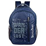 #10: The Blue Pink Polyester 18 Liters Blue Laptop Backpack With 2 Compartment (Duss-Ix-07)