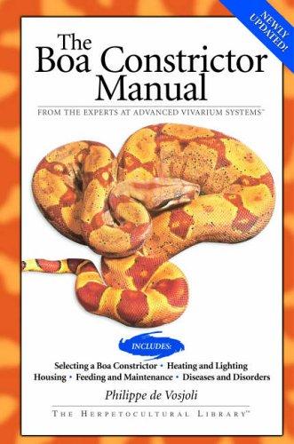 Boa Constrictor Manual (Advanced Vivarium Systems) -