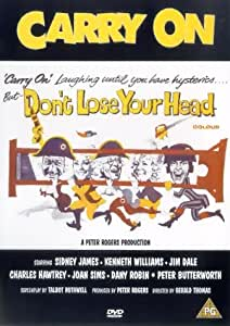 Carry On Don't Lose Your Head [DVD] [1967]