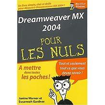Dreamweaver MX 2004 poche pour les Nuls