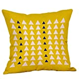 Kissenbezug 45 x 45 cm Geometrie Druck Kissenbezüge Sofa Taille Wurf Kopfkissenbezug kissenhülle Pillow Cover Home Decor by LuckyGirls (G)