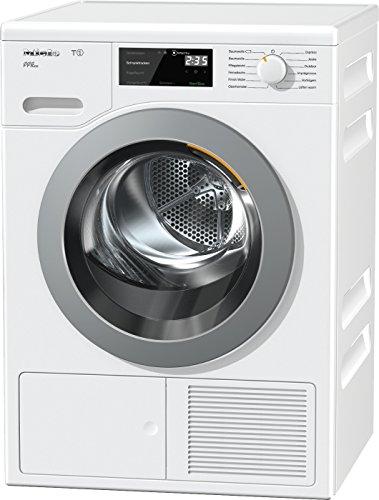 Miele TCF 620 WP Active Plus Wärmepumpentrockner/Energieklasse A+++ (171kWh/Jahr)/8 kg Schontrommel/Duftflakon für frisch duftende Wäsche/Startvorwahl und Restzeitanzeige/Knitterschutz