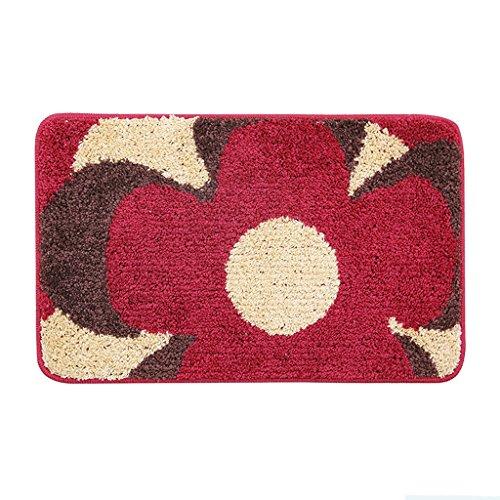 KUN PENG SHOP Bend Yarn Chambre Salon Lave-vaisselle Housse de poussière A+ (Couleur : Red flowers)