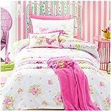 Jiggle & Giggle Kinderbettwäsche Chic Vogel Gedruckt Duvet Bettbezug mit Kissenbezug