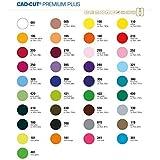 Stahls® CAD-CUT® Premium Plus Flexfolie 350 Navy 50cm x 1m Bügelfolie Flex Folie