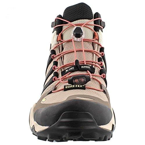 Adidas Terrex Outdoor rapide R Mid Gtx? Noir / Gris foncé / alimentation rouge Sneaker 5 B (m) Gris brume (Vapour Grey) / noir / mastic (Tech Earth)