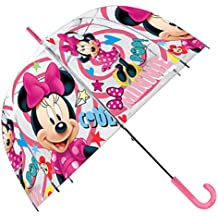 Kids Minnie Paraguas Clásico, 70 cm, ...