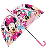 Kids Minnie Regenschirm klassischen, 70cm, Pink