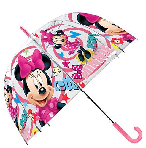Disney Paraguas Transparente 48cm Campana Manual Paraguas