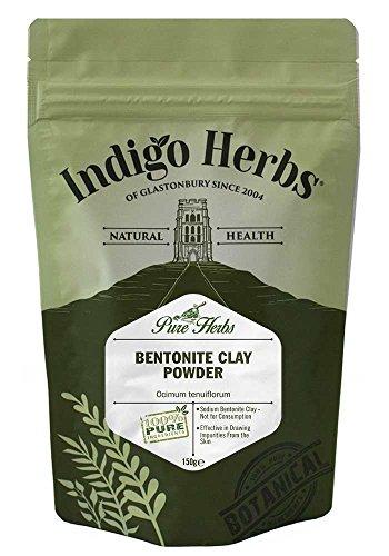 Bentonit-ton Reinigung (Indigo Herbs - Bentonit Tonerde Pulver - 150g)