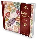 GOCKLER® Notiz-Kalender: Universaler Tagebuch-Kalender || 1 Zeile pro Tag + Notizseiten + Glänzendes Softcover || Ideal für Erinnerungen, To Do's & Termine || DesignArt.: Vintage Herbst