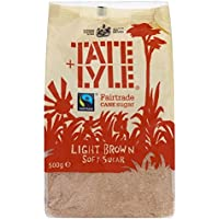Tate & Lyle - Fairtrade Cane Sugar - Light Brown - 500g